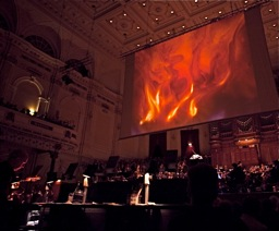 Performing with Royal Concertgebouw 2010 (photo Ronald Knapp)